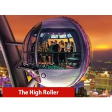 The High Roller - Passeio noturno com Happy Hour